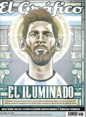 Digital - El Gráfico - El Iluminado - Messi -