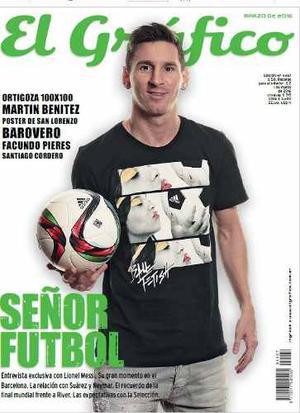 Digital - El Gráfico - Señor Futbol - Leo Messi
