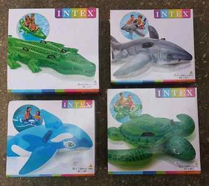 Flotadores Inflables Intex, Cocodrilo-tiburon-delfin-tortuga