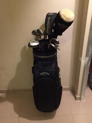 Juego De 11 Palos De Golf Callaway Con Bolso