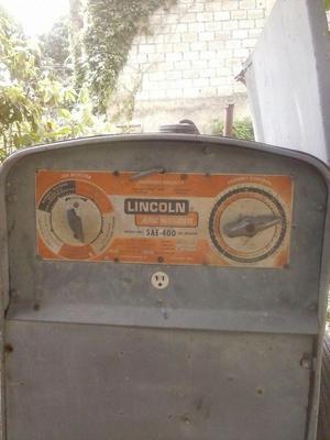 Maquina de Soldar Lincoln 400 Amp.