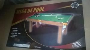 Mesa De Pool Grande Nueva