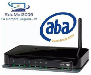 Modem Router Wifi Netgear Configurado Con Aba Cantv