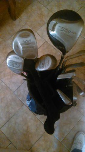 Palos De Golf Con Bolso Y 190 Pelotas