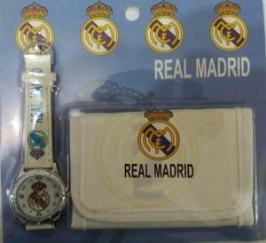 Reloj De Niño Real Madrid Princesas Niñas Carteras