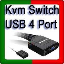Switch Kvm 4 Puertos, Tienda Fisica Caracas, Punto De Venta
