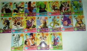 Colección De Tarjetas Dragon Ball. 39 Barajitas.
