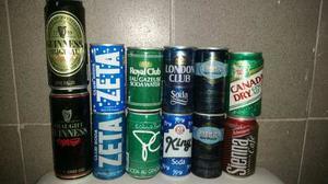 De Coleccion Latas De Soda Importadas Vintage!!!