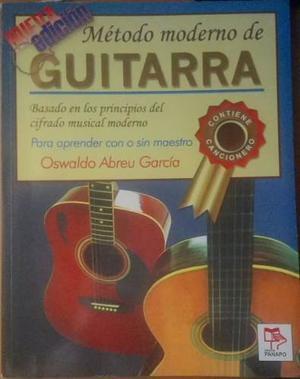 Libro Método Moderno De Guitarra De Oswaldo A. García