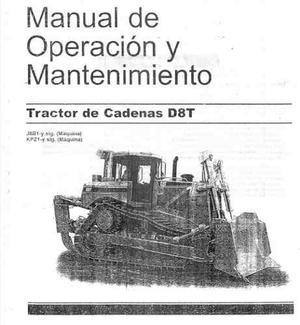 Manual De Mantenimiento Y Operacion Cat D8t