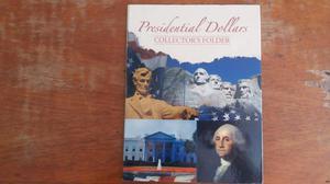 Album de monedas coleccion presidentes
