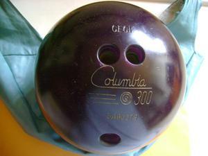 Bola De Bowling Marca Columbia 14 Libras
