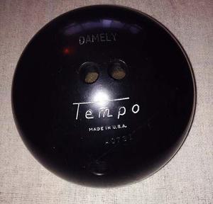 Bola De Bowling Marca Tempo Made In U.s.a.