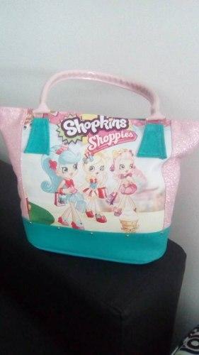 Carteraa Grandes Para Niñas Shopkins Shoppies
