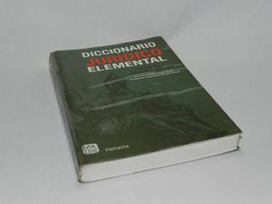 Diccionario jurídico elemental