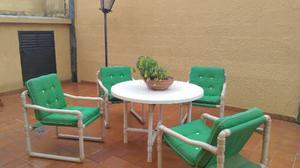 Juego De Mesa Y Sillas Para Jardin O Exterior
