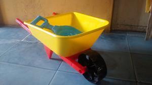 Juguete Carretilla Para Bebe Niños Y Niñas Plastico