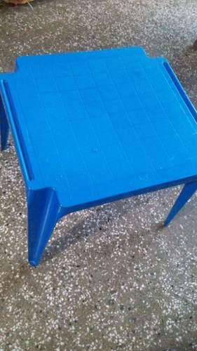 Mesa Plastica Para Niño O Niña Usada Buen Estado