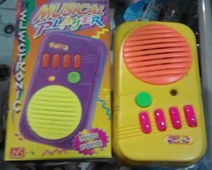 Radio De Juguetes Para Bebes Con Luces Y Sonidos