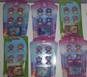 Set De Sellitos Con Tinta De Las Princesas De Disney