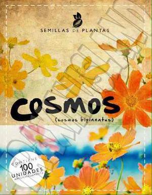 Sobre De Semillas De Flores De Cosmos.