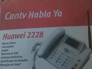 Telefono Fijo Huawei  Nuevo Sin Linea