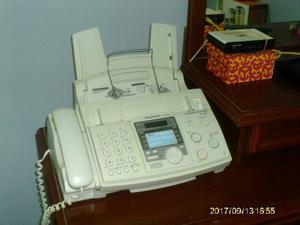 Teléfono Fax Panasonic Blanco