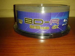 Disco Blu-ray Virgen De 25gb 6x Printeable