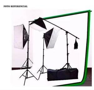 Kit De Iluminación Fija Limostudio Para Fotografía Y Video