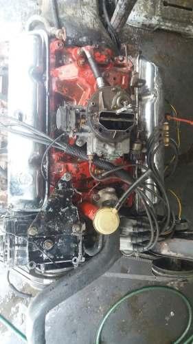 Motor Jeep Wag 360 Caja Y Transfer Con Todos Sus Accesorios