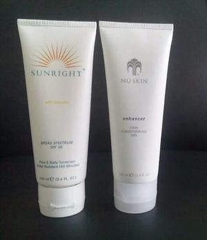 Nuskin Enhancer Gel Sunright Hidratante Nu Skin