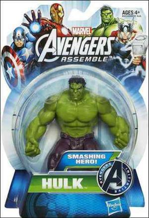 Avengers Assemble Hulk Iron Man Capitan America De Hasbro
