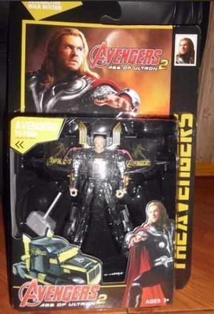 Avengers Transformers Thor Hulk Iron Man Capitan America