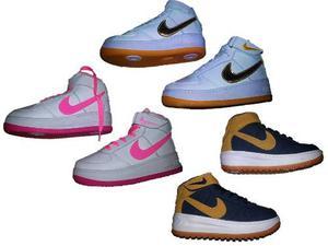 Botas Nike Air Force One Para Niñ@s Oferta