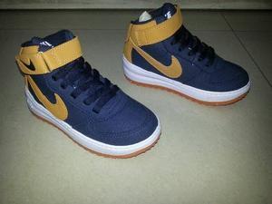 Botas Nike Force One Para Niños