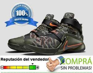 Botas Nike Lebron Soldier 9 Para Caballeros Tallas 40 A 46