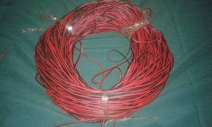 Cable De Sonido Corneta De Cobre Rojo/negro 2x18 Por Metro