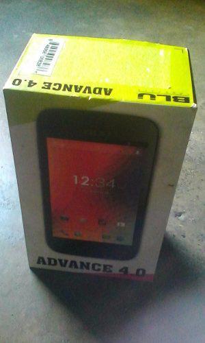 Caja De Telefono Blu Advance4.0 Con Manual Y Bateria