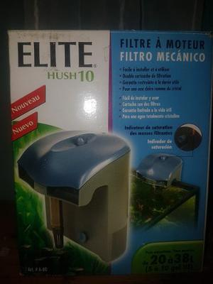Filtro Tipo Cascada Para Acuario Elite Hush  Litros