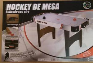 Hockey De Mesa Activado Con Aire Grande De 137cm Como Nueva!