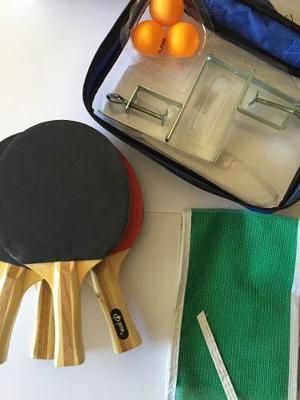 Juego De Ping Pong O Tennis De Mesa