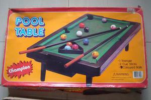 Juego De Pool Para Niños Con Todos Sus Accesorios