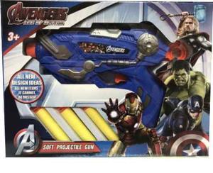 Juguete Lanzador De Dardo Spiderman Avengers Paw Patrol Cars