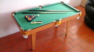 Mesa De Pool Grande Para Niños Cambio X Tabla Canaima