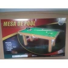 Mesa De Pool Jeidy Toys Nueva
