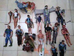 Muñecos Max Steel Y Elementor Variados