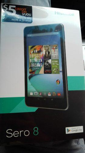 Tablet Hisense Sero 8 Nueva De Paquete