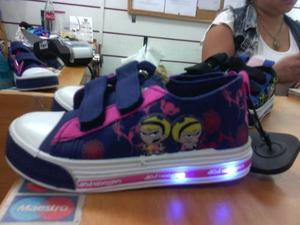 Zapatos Con Luces Niño Y Niña Cartoon Network 22 Al 24