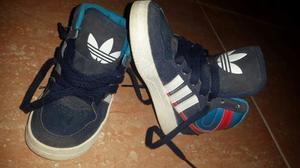 Zapatos adidas & Nike Usado En Excelente Estado