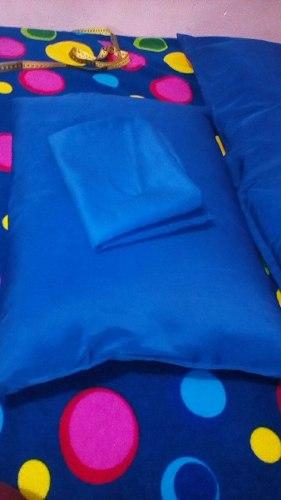 Almohadas Forro Con Relleno Diversos Colores